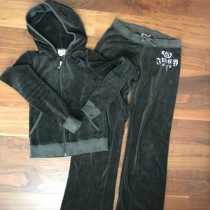 Juicy Terry Cloth Track Suit